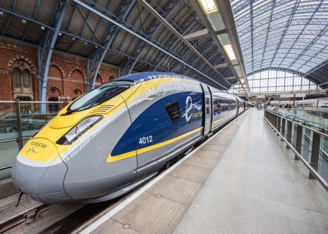 Eurostar in Waterloo station