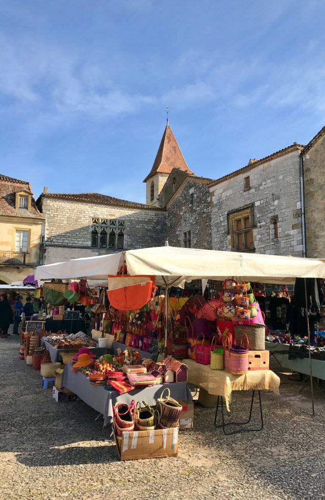 Monpazier Market
